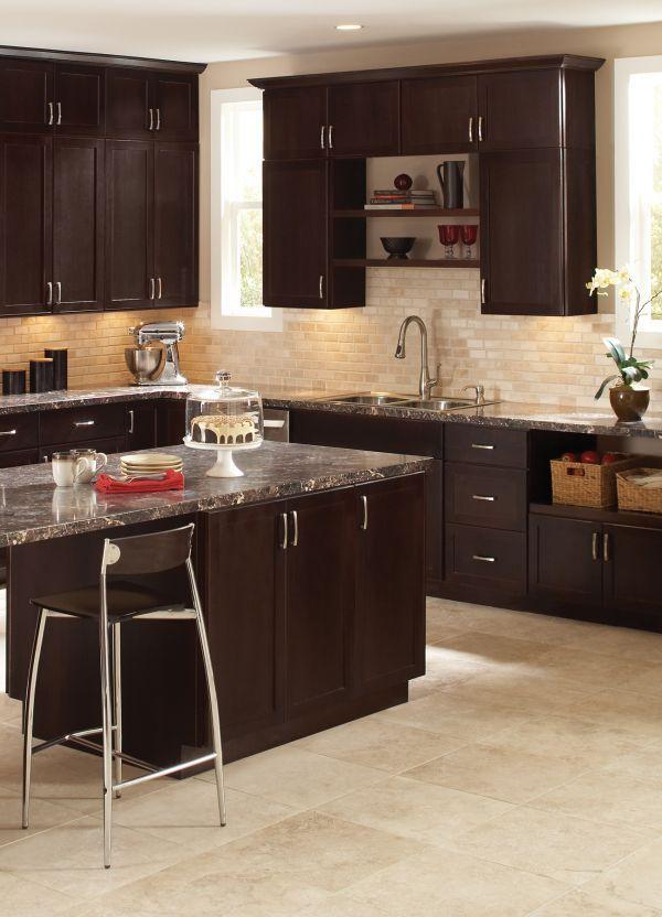 andover shaker cabinets java shaker cabinets cabinet updated kitchen on kitchen cabinets java id=51849
