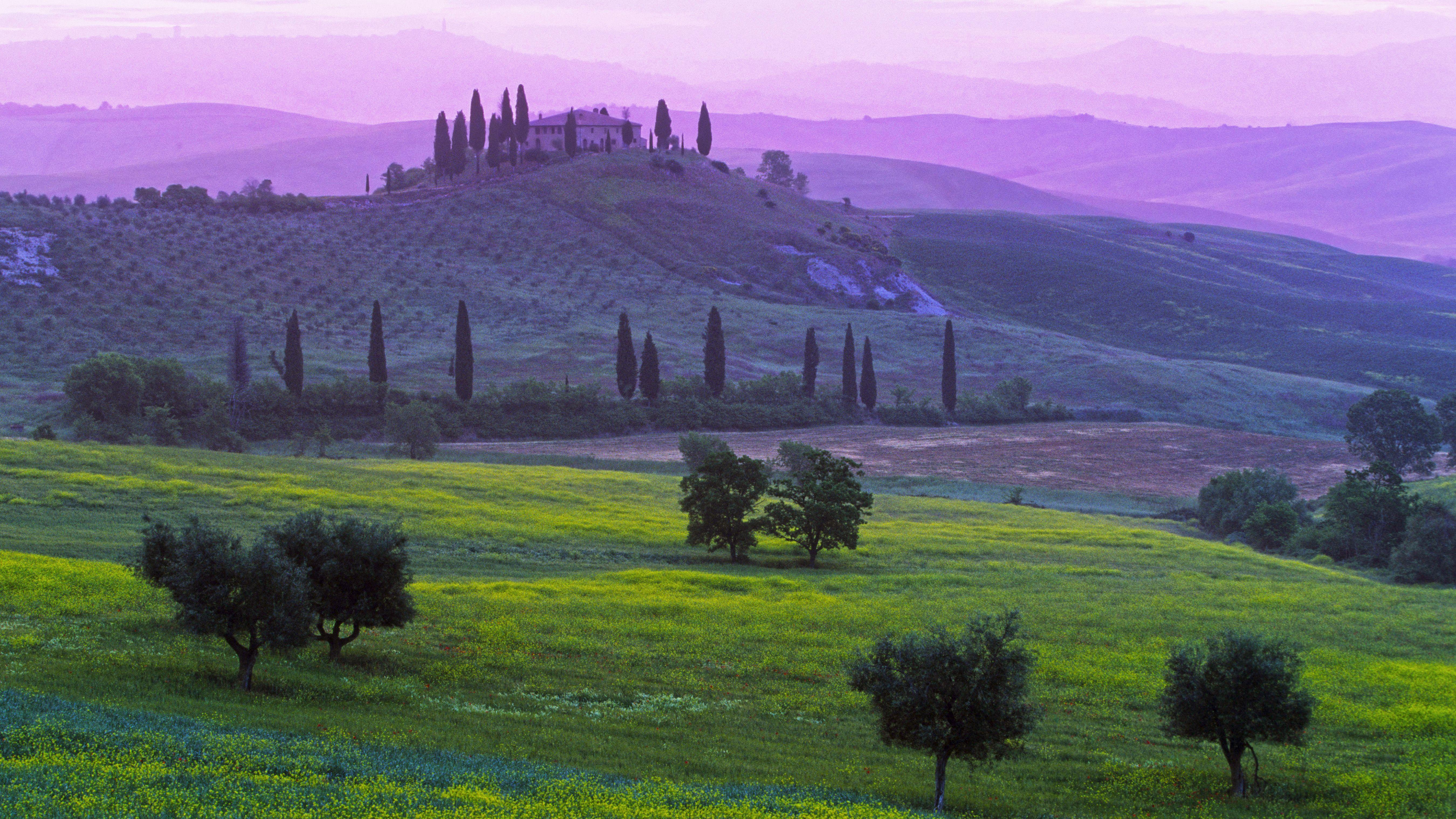 tuscany   Tuscany, Italy, Landscape wallpaper