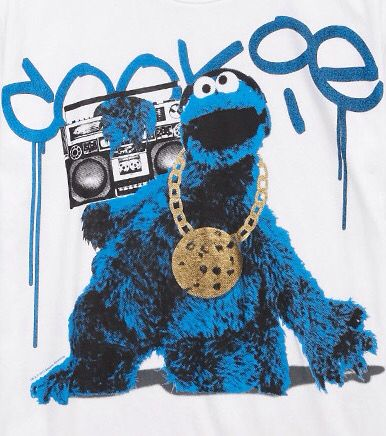Gangsta Cookie Monster By Forever 21 Cookie Monster