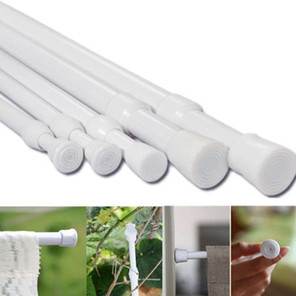 2 81 Aud Durable Extendable Shower Curtain Rail Rod Pole