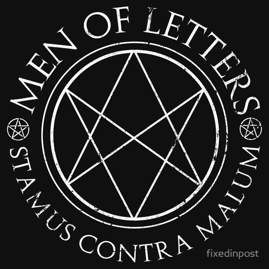 man of letters meaning supernatural of letters unisex t shirt 39575