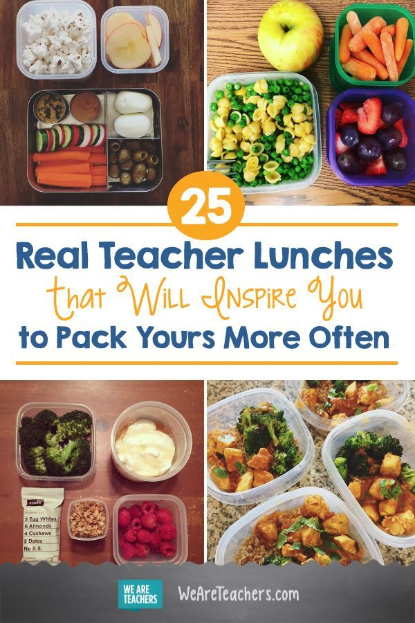 25 Real Teacher Lunches That Will Inspire You to Pack Yours More Often images