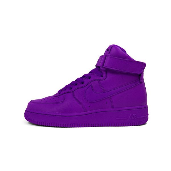 """Nike WMNS Air Force 1 """"Color Pack"""" Quickstrike ❤ liked on Polyvore featuring shoes, sneakers, nike, nike shoes, nike sneakers, nike trainers and nike footwear"""