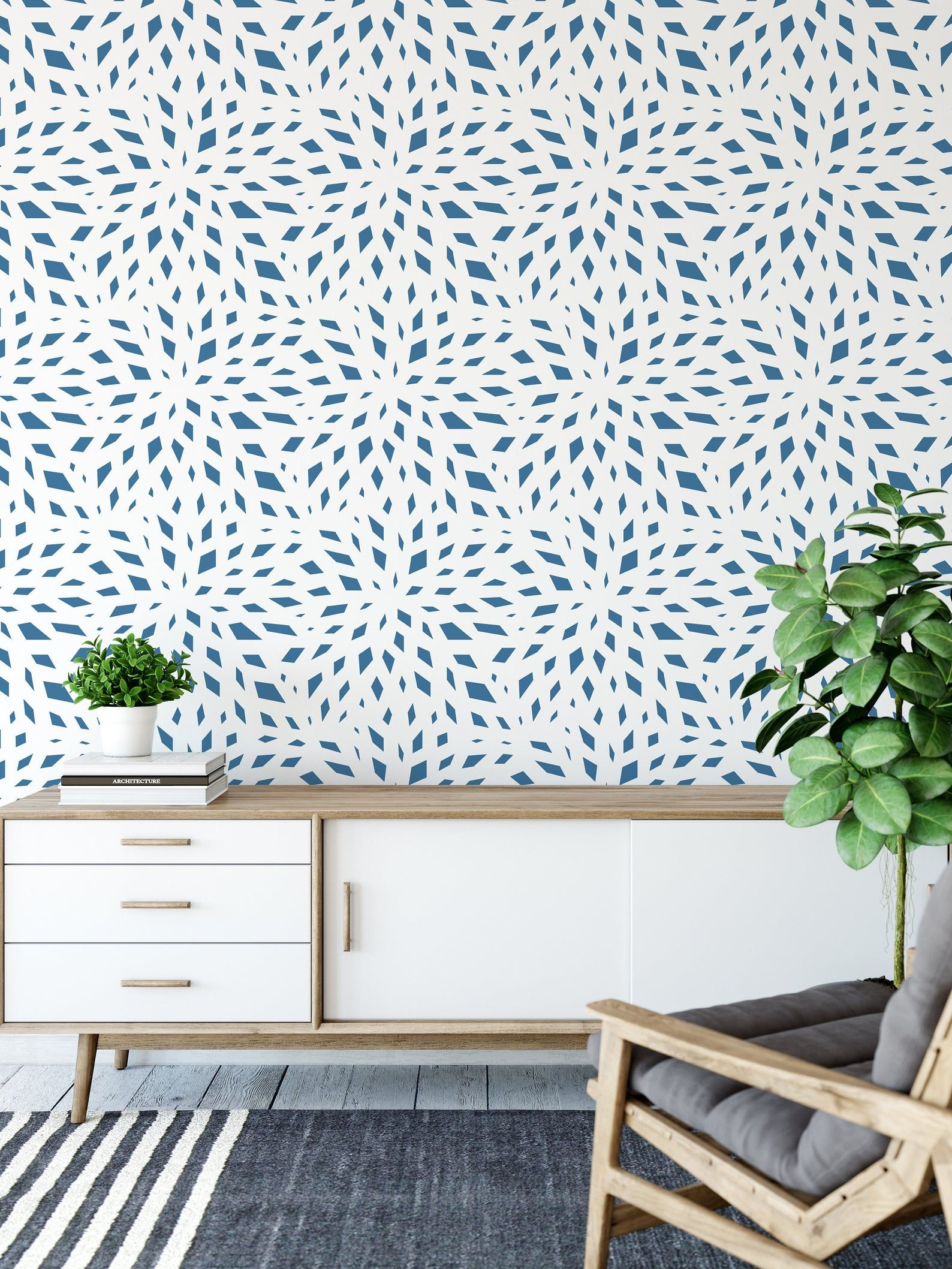 Natural Designer Wallpaper Removable And Self Adhesive Peel Etsy Designer Wallpaper Peel And Stick Wallpaper Wallpaper