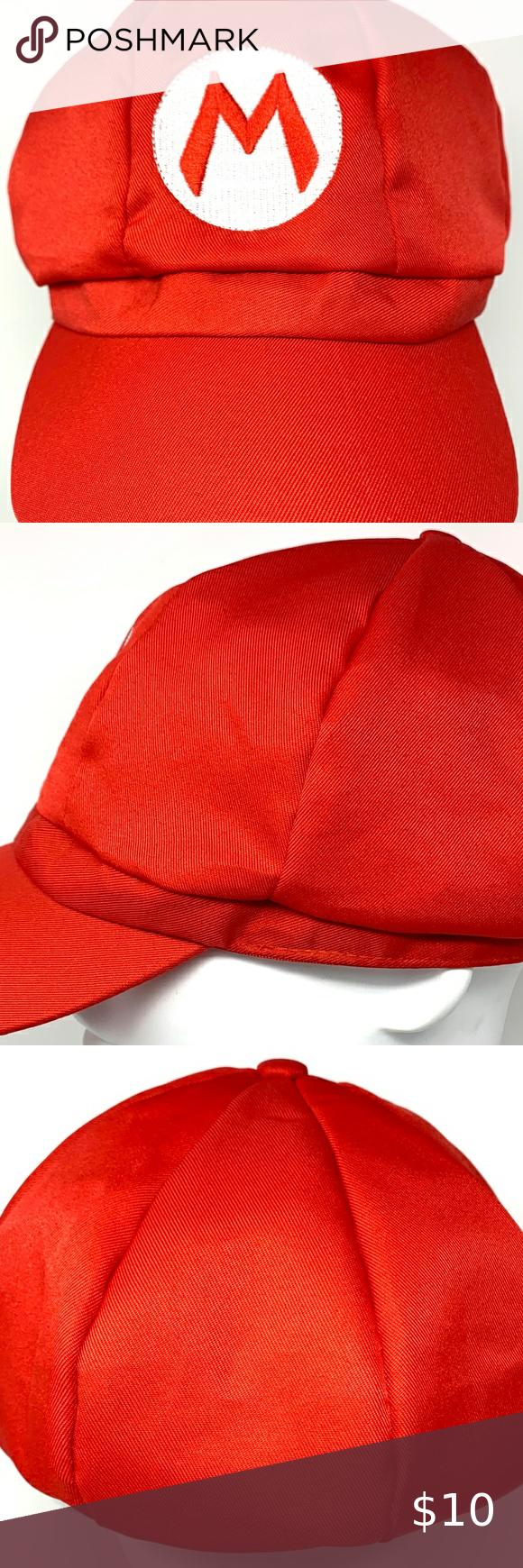 Super Mario Brothers Mario Red Hat Super Mario Brothers Mario Brothers Red Hats