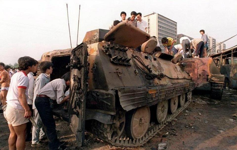 Tiananmen Square Tiananmen Square Protests Of 1989 Military
