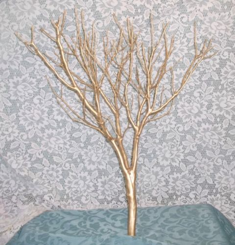 6pk 20 tree champagne gold manzanita centerpiece branches diy buy tree kona brown branches only manzanita centerpiece diy weddings at online store junglespirit Image collections