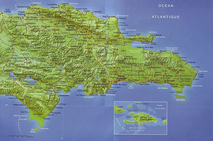 Map of Dominican Republic | Places I\'ve Been | Map ...