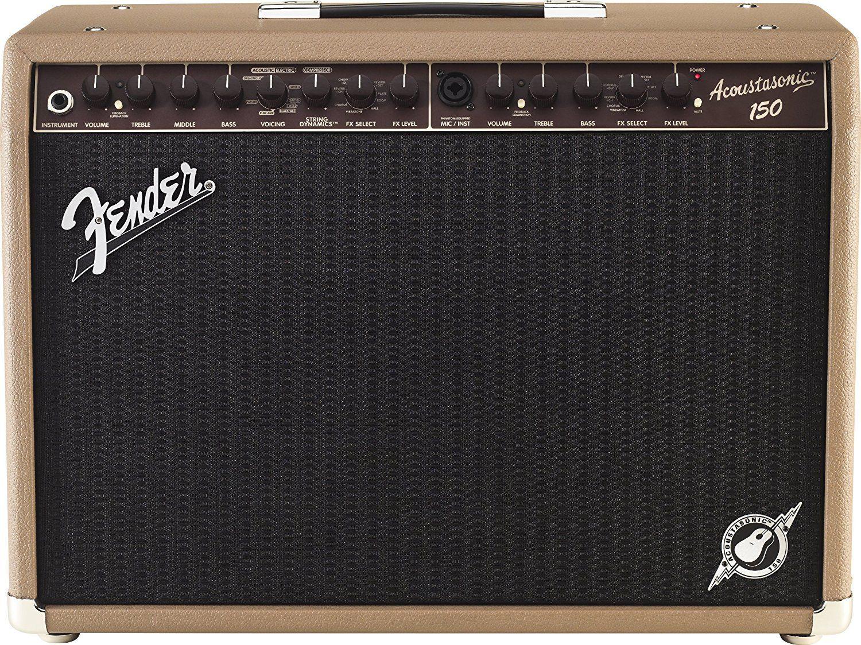 Fender Acoustasonic 150 150 Watt Acoustic Guitar Amplifier By Fender Musical Instruments C Acoustic Guitar Amp Guitar Amps For Sale Fender Acoustic Guitar
