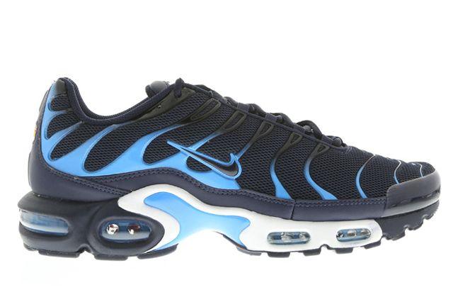 NIKE AIR MAX PLUS (OBSIDIAN AND BLUE) Sneaker Freaker Nike