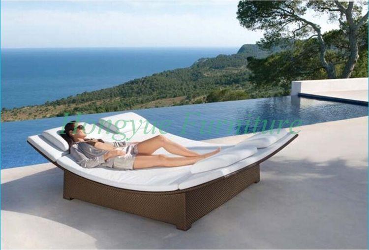 Mobili Da Esterno Per Piscina : Vimini all aperto doppia poltrona mobili set con cuscini outdoor