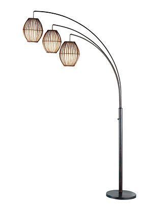 Adesso Lighting Maui Arc Floor Lamp Floor Lamp Arc Floor Lamps