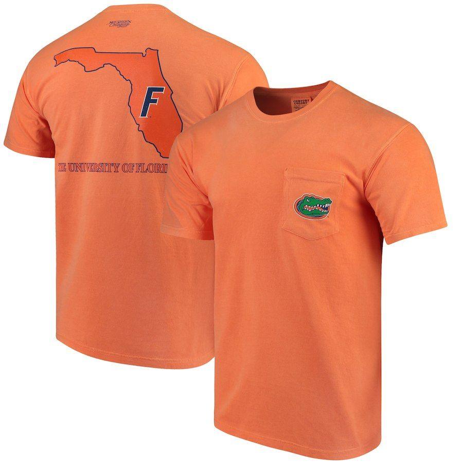 Florida Gators Comfort Colors State T Shirt Orange