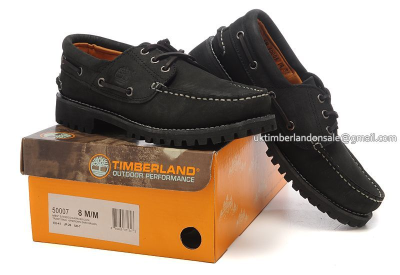 Black boat shoes, Boat boots