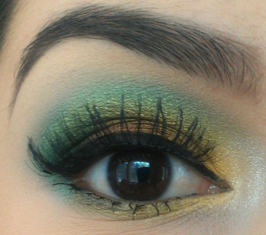 Glimmery Green By Desiree E.
