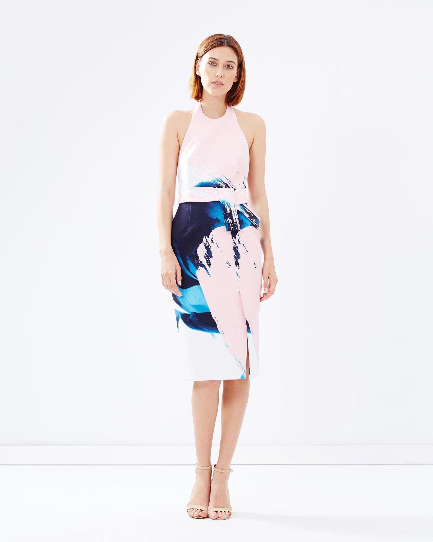 NICHOLAS - \'Paint Floral Apron Dress\' sizes 8 - 14 | RRP $595.00 ...
