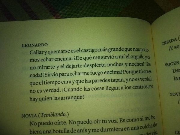 Bodas De Sangre Federico García Lorca Frases De Boda