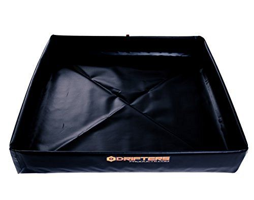 Camping Shower Mat For Rv Or Portable Shower Units Folds Into Small Flat Storage Made In Usa Black Portable Shower Camping Shower Camping Bed