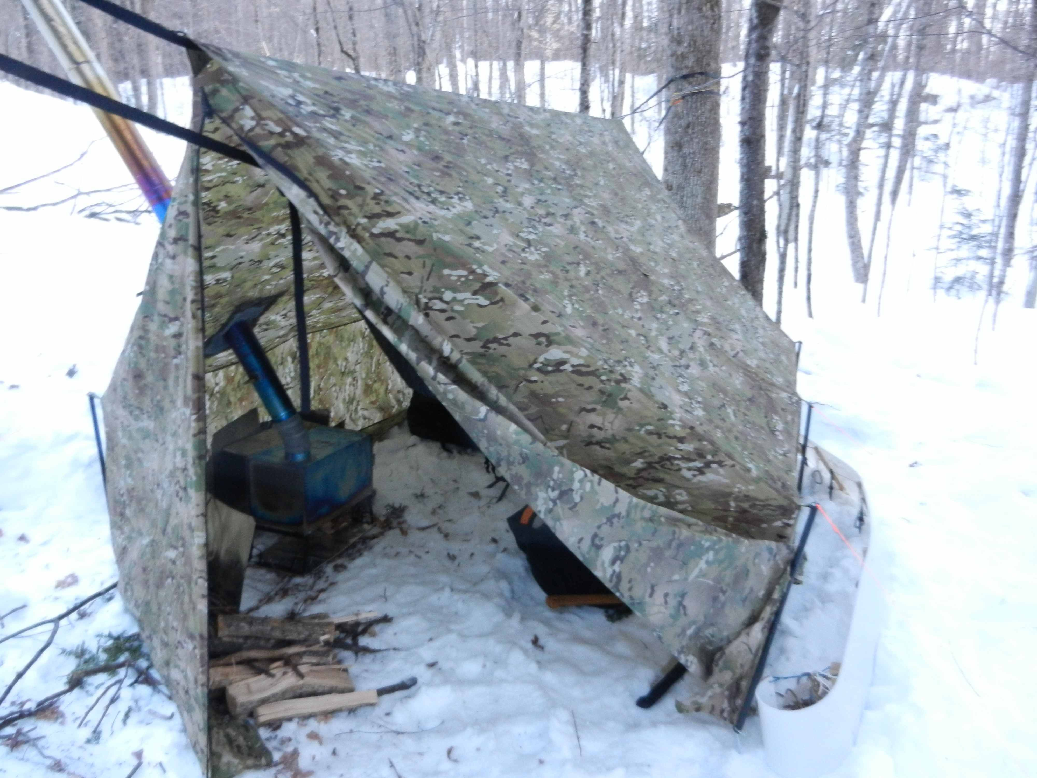 Smokehouse setup friday winter camping pinterest smokehouse