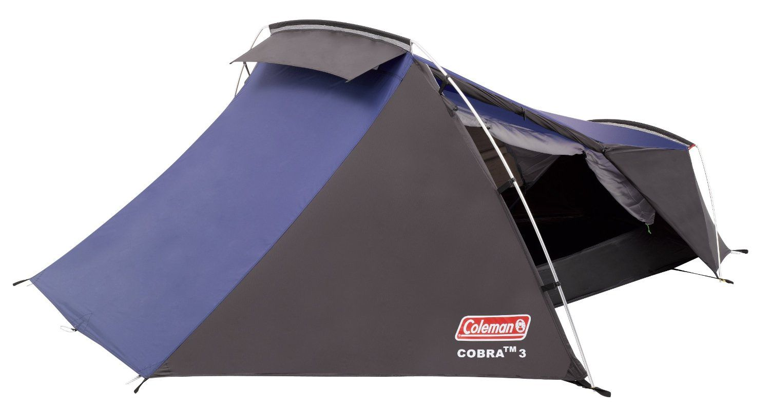 BARGAIN Coleman Cobra 3 Three Person Backpacking Tent £58.06 at Amazon - Gratisfaction UK  sc 1 st  Pinterest & BARGAIN Coleman Cobra 3 Three Person Backpacking Tent £58.06 at ...