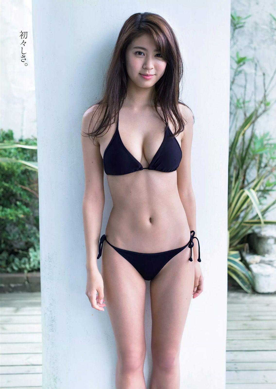 And have japanese bikini idol pics