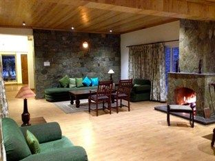 Living area @ The Hideout Crimson Hills - Mukteswar, Uttarakhand,India