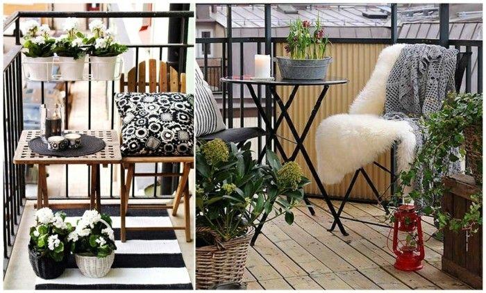 1001 ideen zum thema schmalen balkon gestalten und einrichten tatoos pinterest - Holztisch terrasse ...
