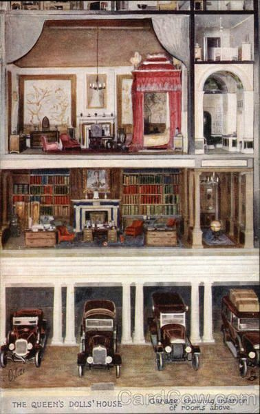The Queen's Dolls' House UK Tuck's Oilette Series