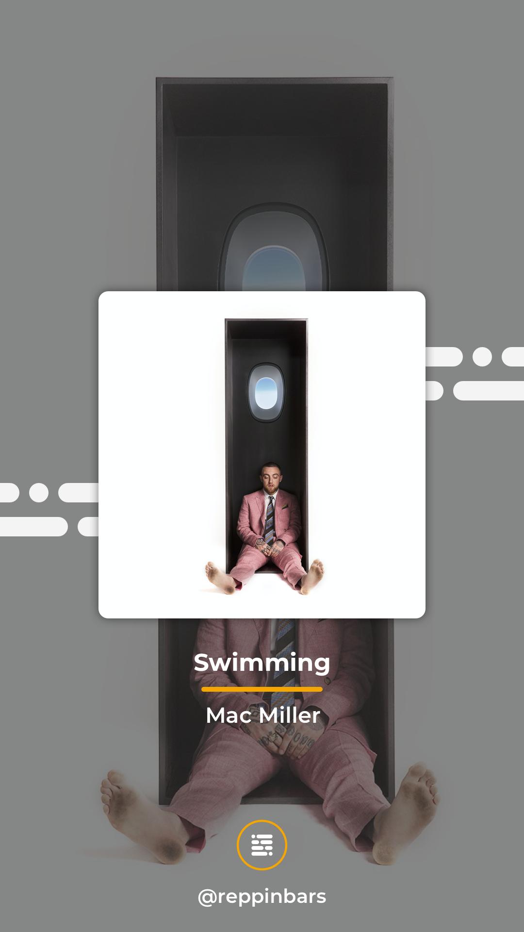 Mac Miller Swimming Wallpaper In 2020