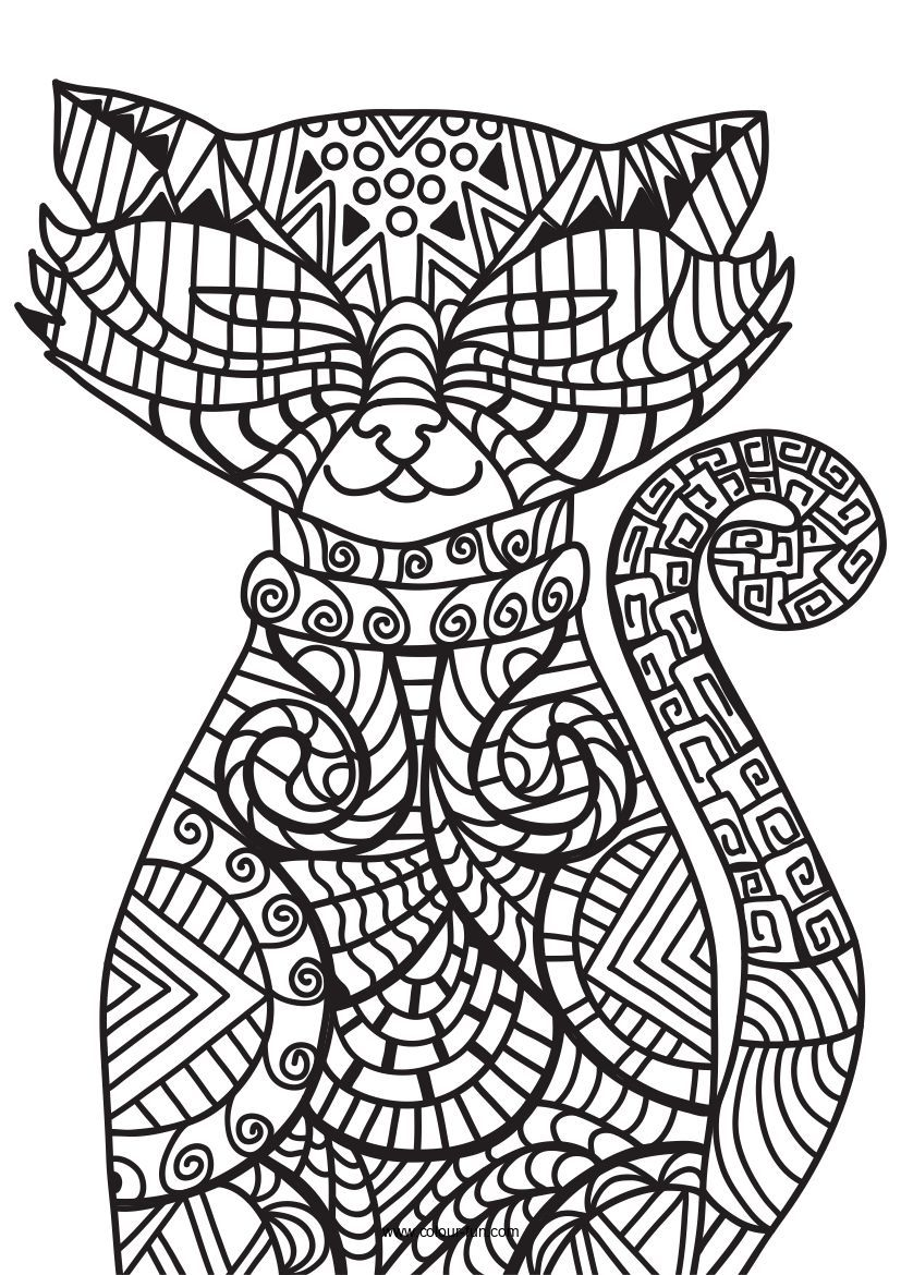 Pin By Mary Hollis Bacon On Art Designs Coloring Books Cat Coloring Page Printable Coloring Book [ 1170 x 827 Pixel ]