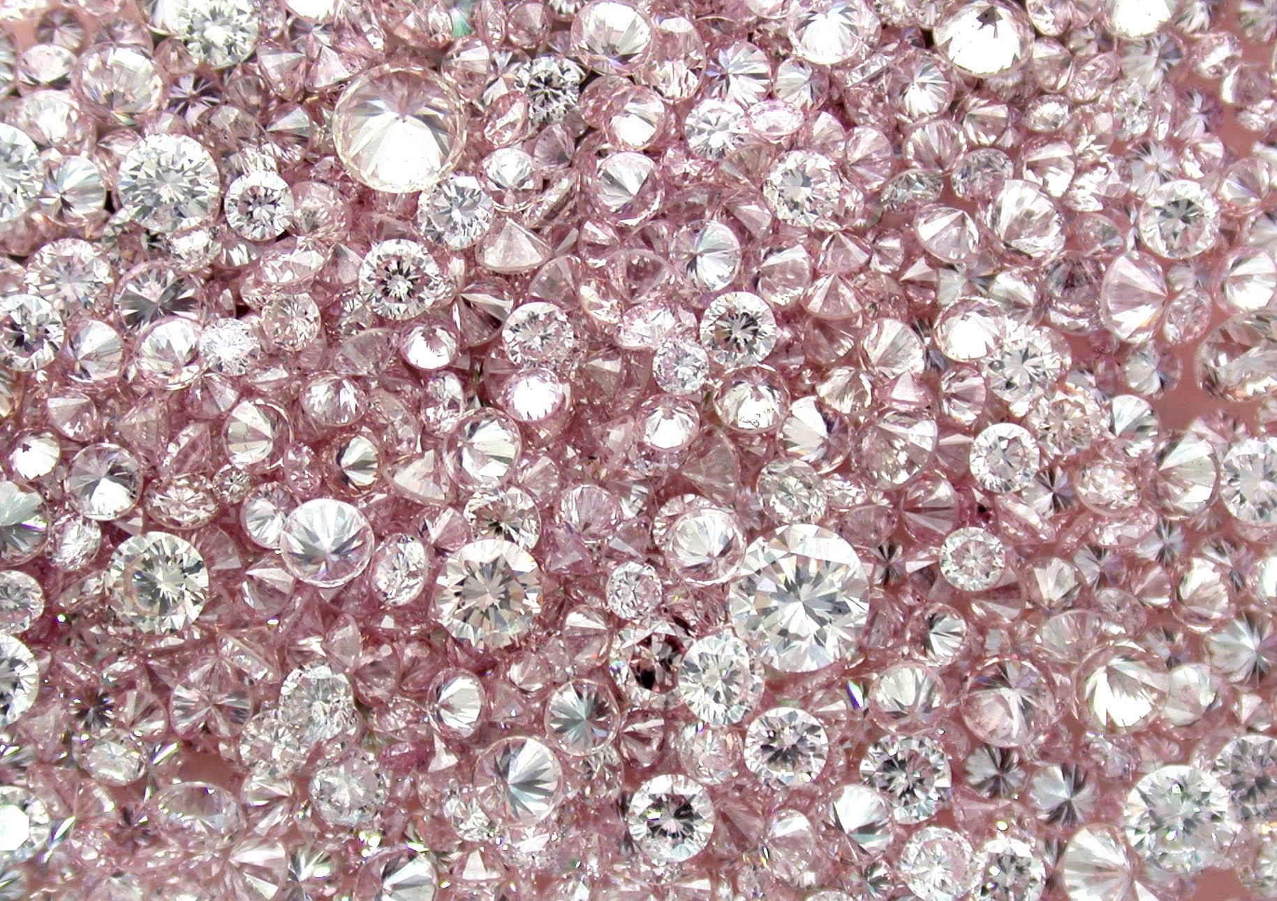 Natural Loose Pink Diamonds