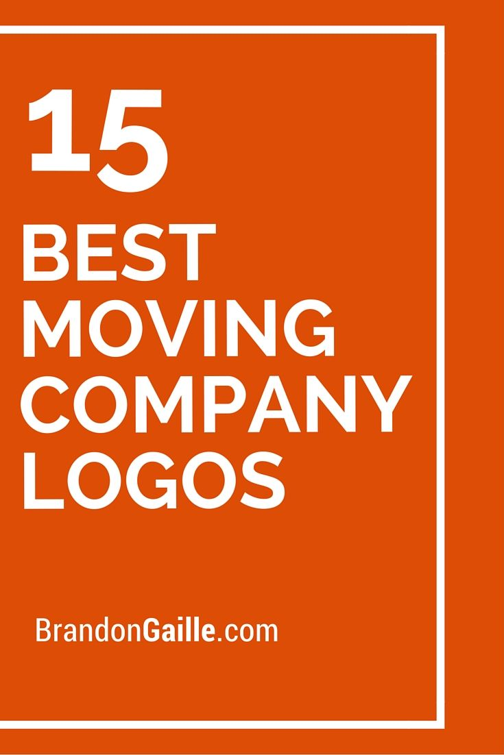 List of the 15 Best Moving Company Logos | Logos, 15 and Moving ...