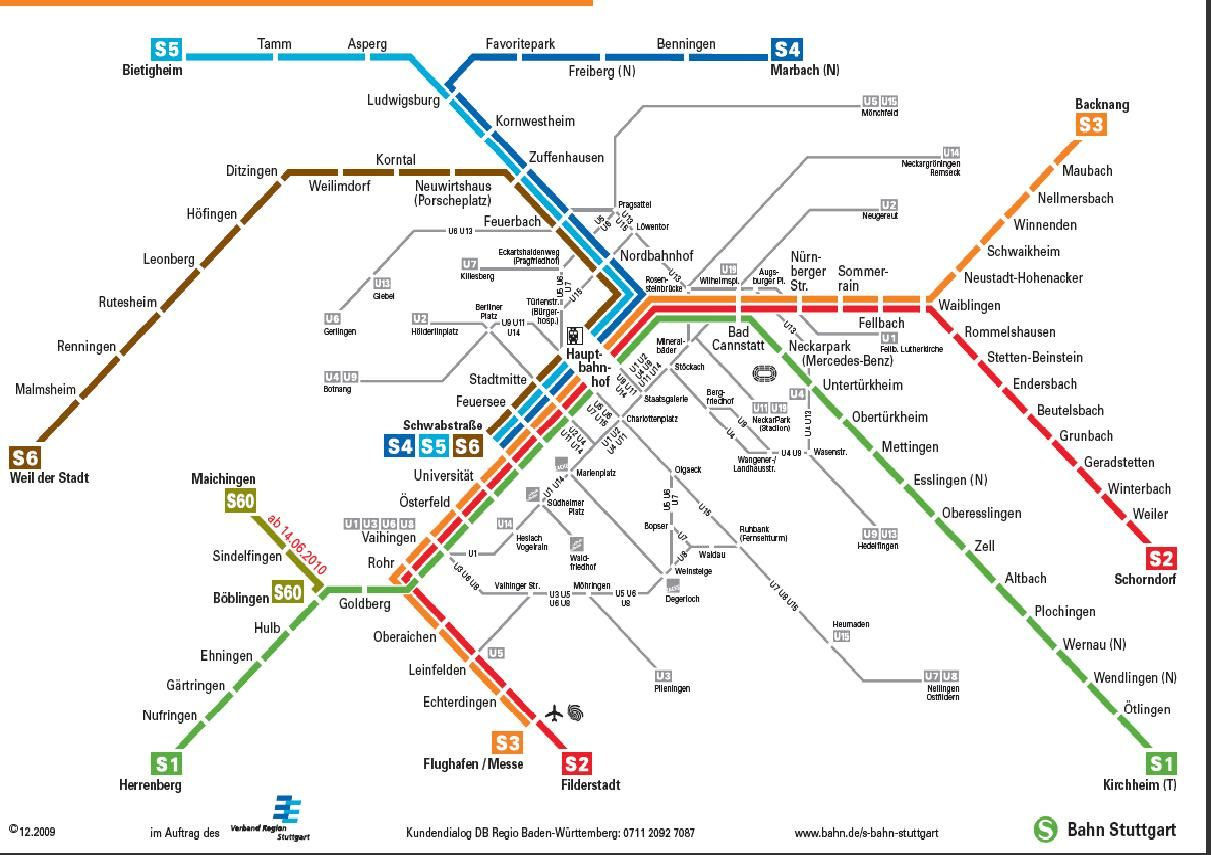 This map received significant study on my trip Stuttgart train map