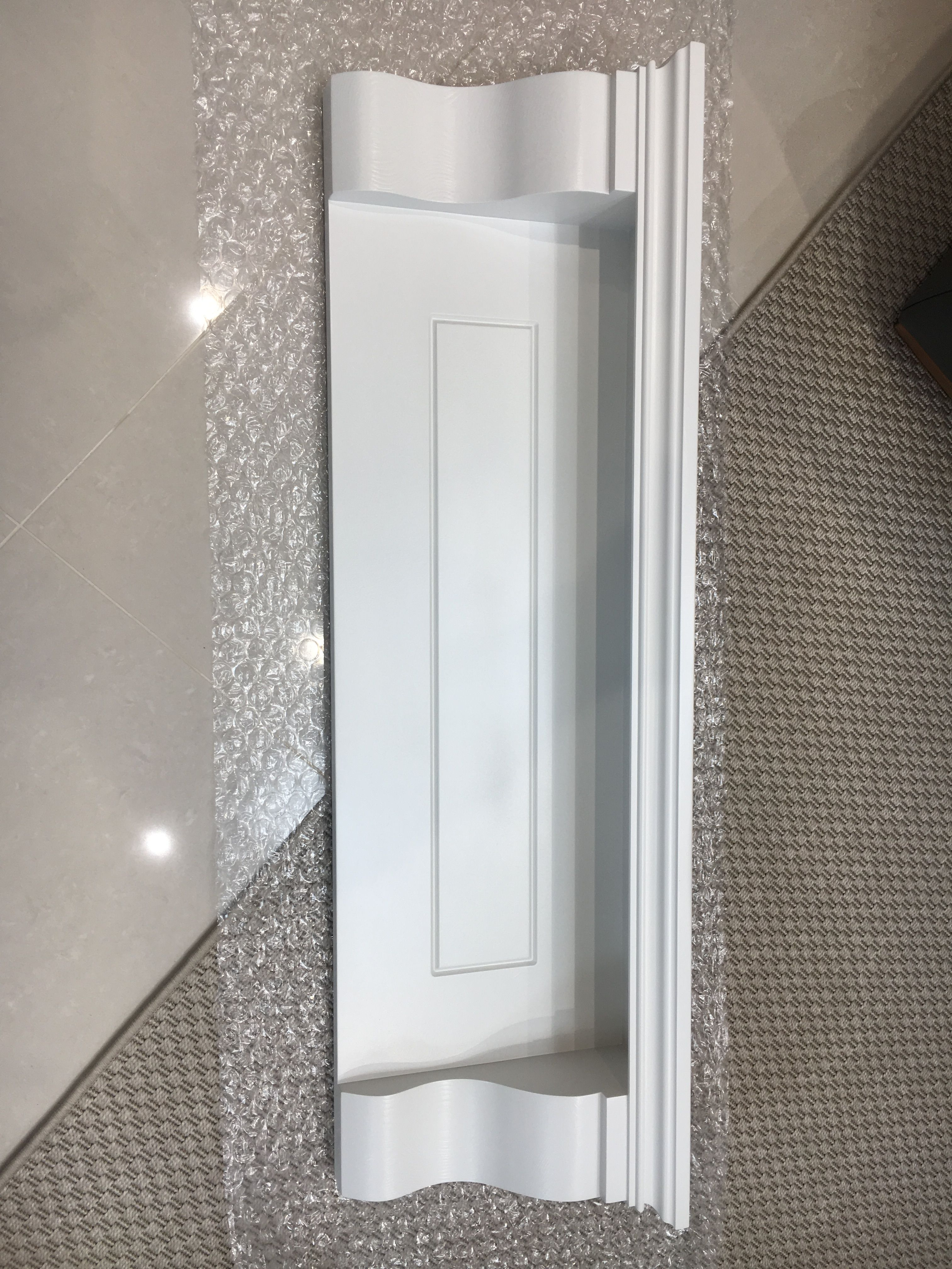 Best Kitchen Mantle Shelf Painted Farrow And Ball Strong White 400 x 300