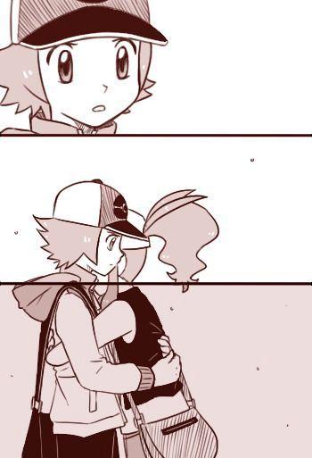 Aquí subiré doujinshis en español de pokemon special y algunas imágenes de las diferentes parejas que existen...     Esto...
