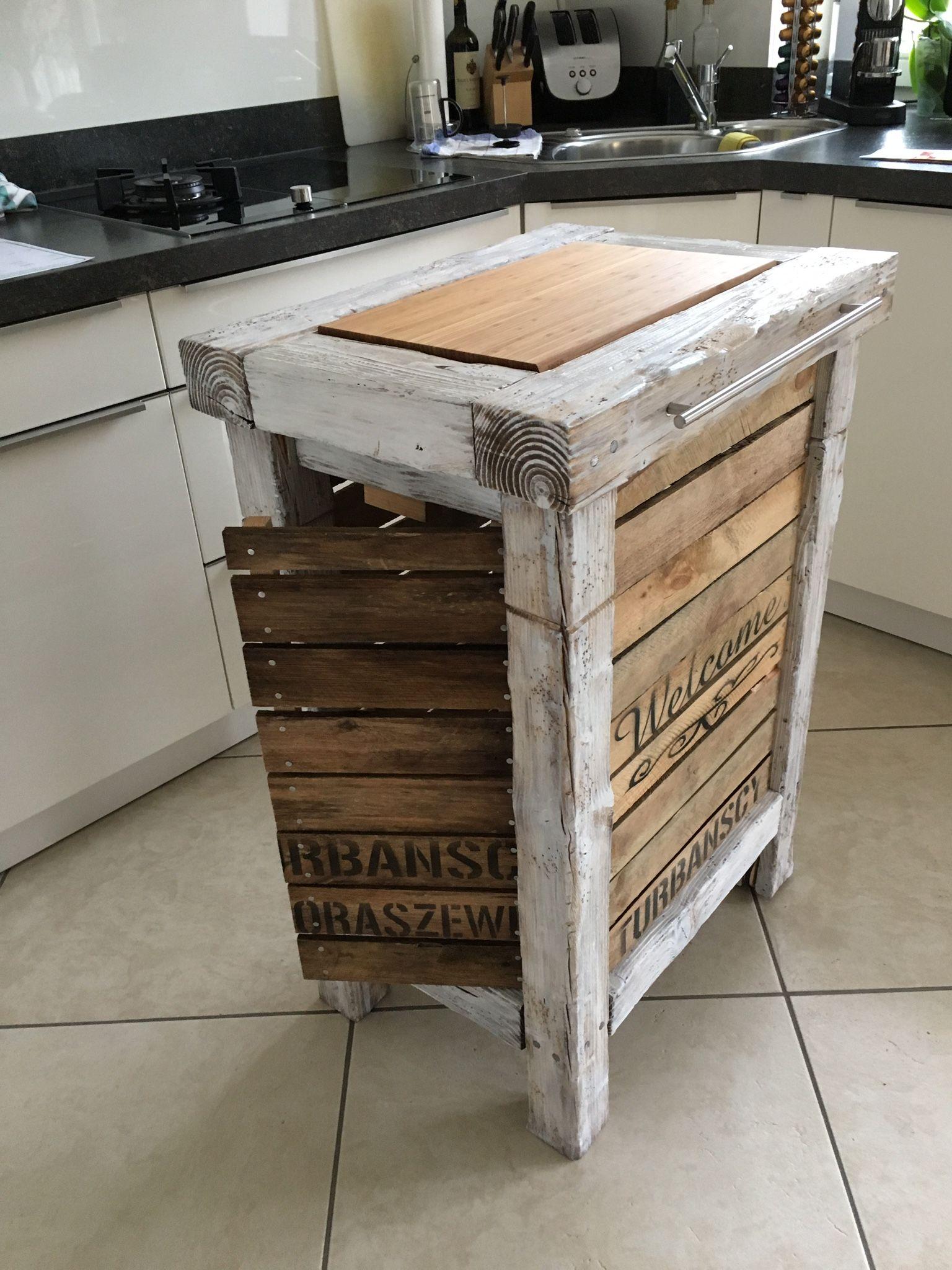 Küchenblock, Küchenwagen, Kücheninsel | küchenwagen | Pinterest ...