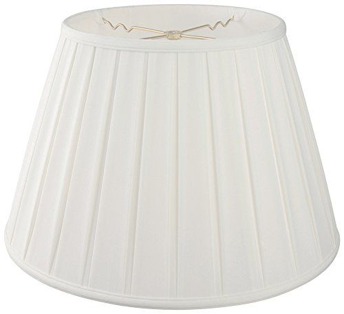 Royal Designs DBS72418WH Empire English Pleat Basic Lamp Shade 11 x 18 x 12 White * More info could be found at the image url.-It is an affiliate link to Amazon. #LampShades