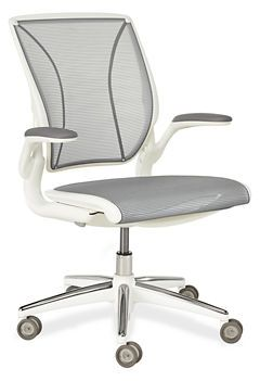 Diffrient World® Chair in White - Office Chairs - Office - Room & Board