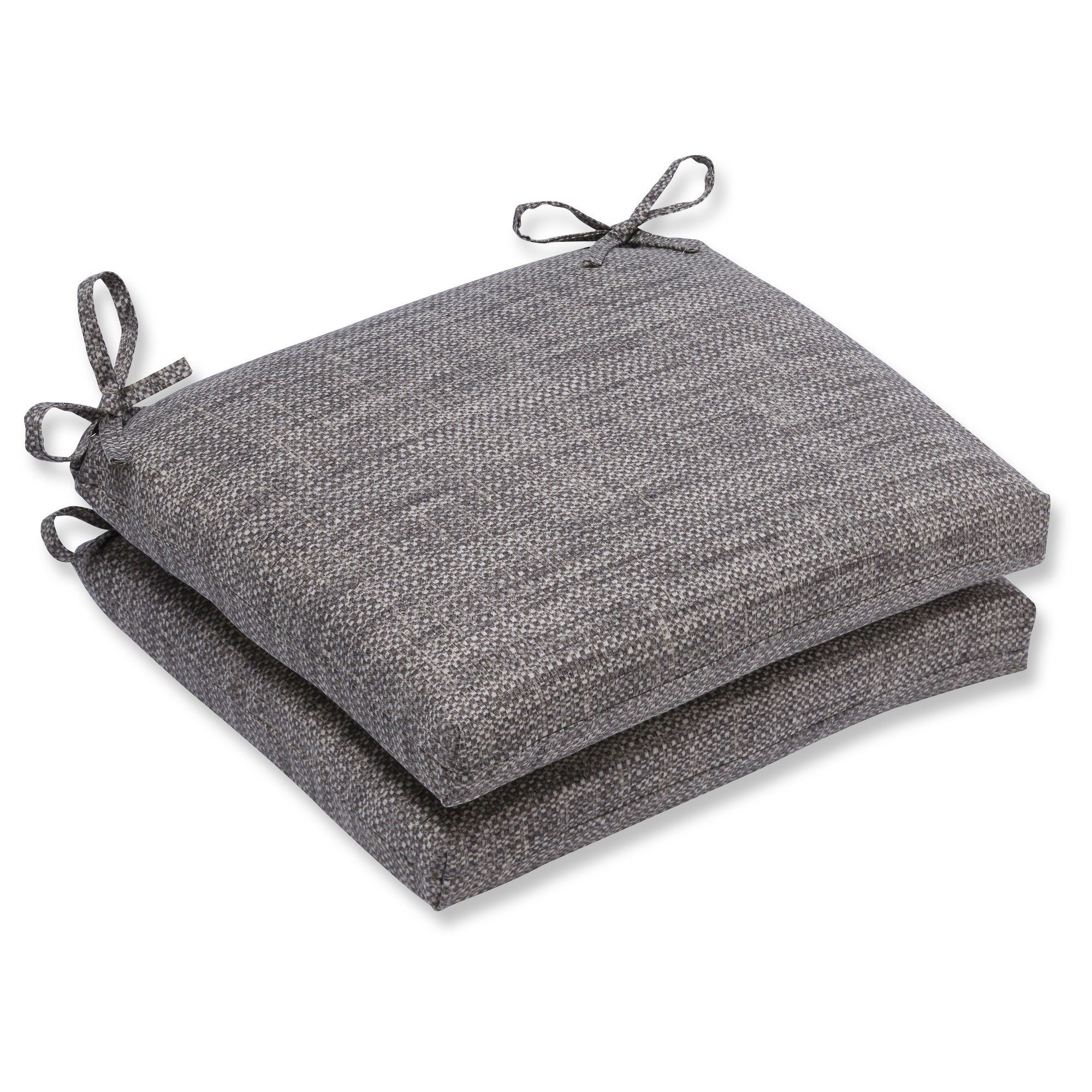 Pillow perfect outdoor seat cushion set gray outdoor seat
