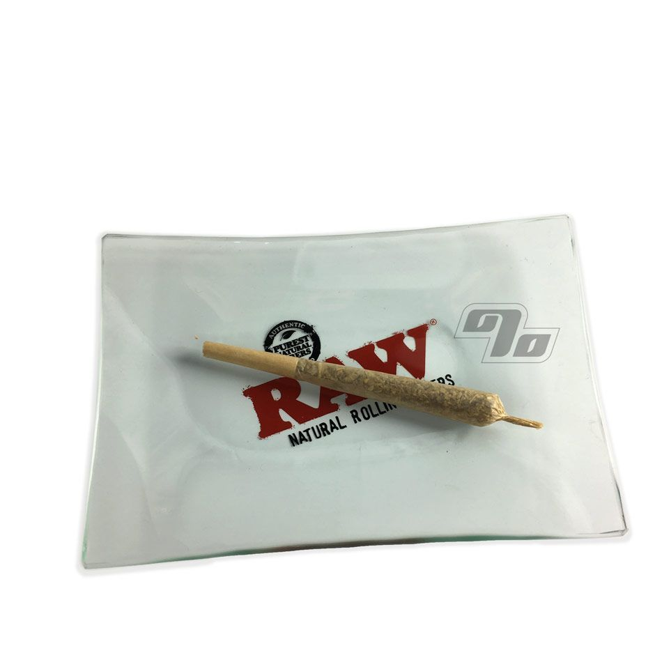 Raw Mini Glass Rolling Tray By Raw Mini Tray Rolls