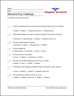 Learn about Memorial Day with Free Printables! | Memorial ...