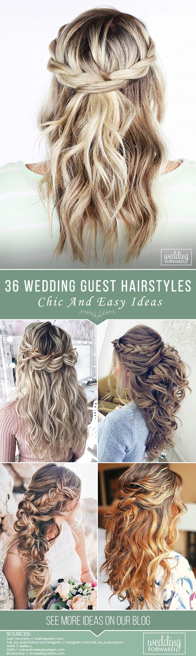 chic and easy wedding guest hairstyles wedding guest hairstyles