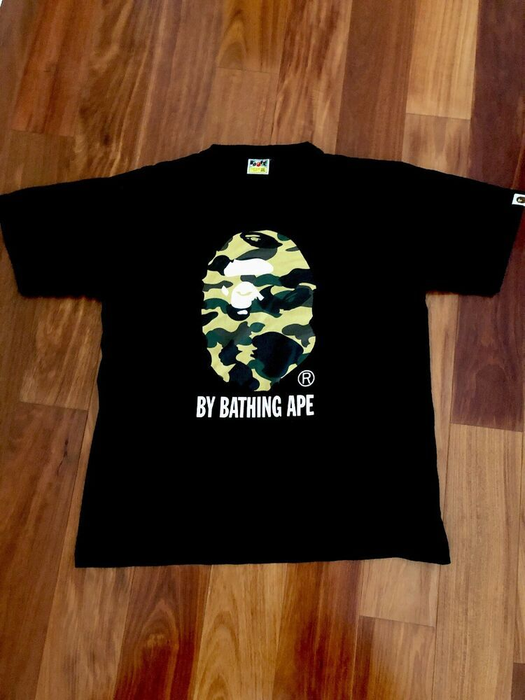 6d2b4b3d bape shirt authentic hype Bathing Ape XXL Tee #fashion #clothing #shoes # accessories