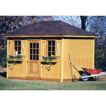 Costco Yorktown 8 ft x 12 ft Storage Shed