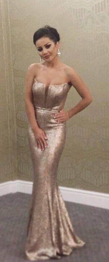 CRISTALLINI #EveningDress #Prom #Sequins #GoldDress | Fashionable ...