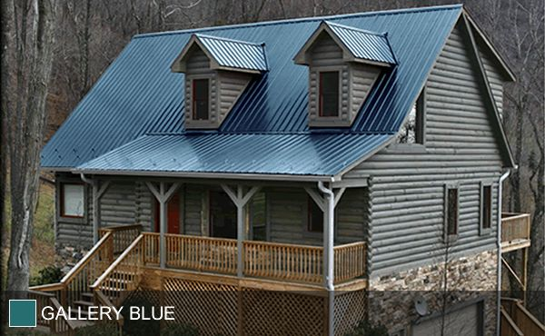 Best Steel Roof Gallery Blue In 2019 Metal Roof Houses Tin 400 x 300