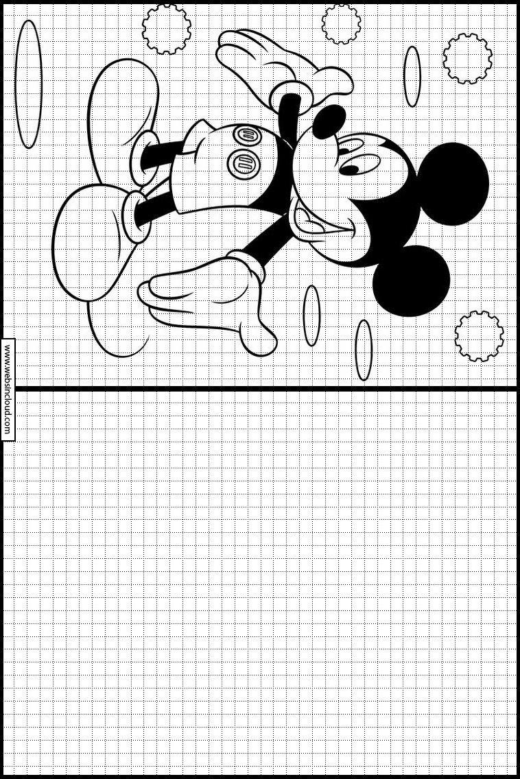 Mickey Mouse 27 Apprendre à dessiner. Activités pour les enfants à