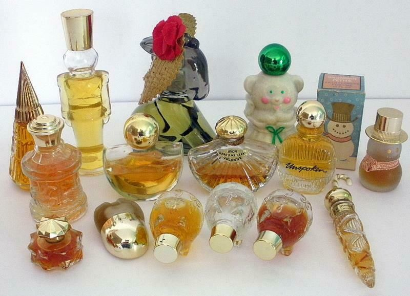 Mini Collectibles perfume bottles. Antiques and modern