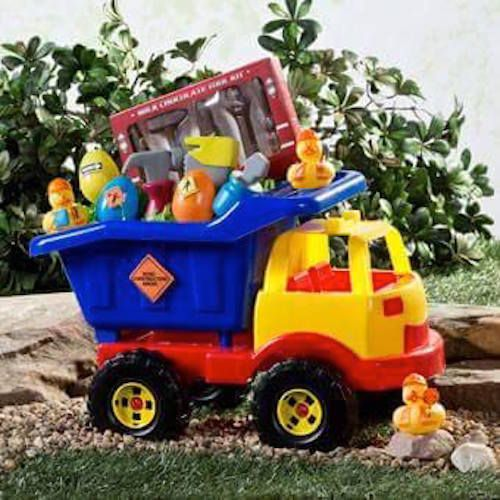 Toddler easter basket idea take a toy dump truck and fill it with toddler easter basket idea take a toy dump truck and fill it with toys negle Gallery