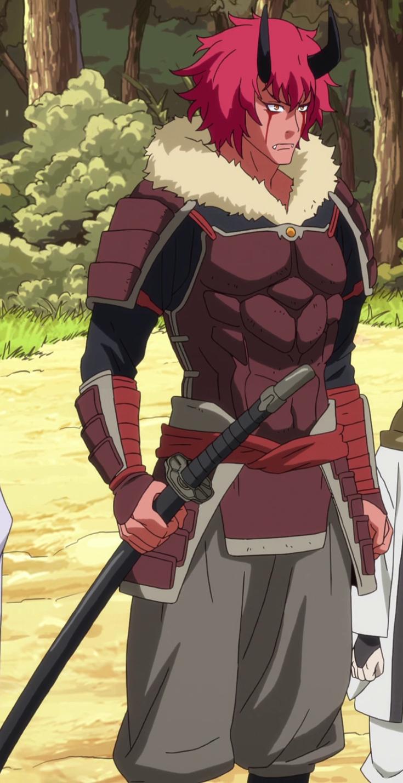Benimaru Anime, Anime episodes, Crimson hair